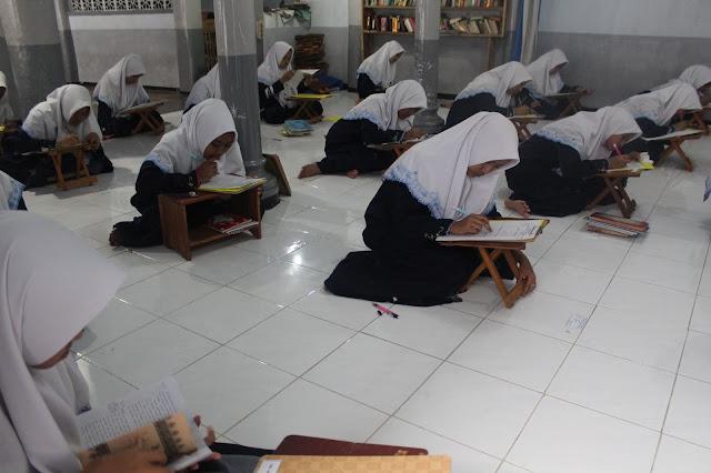 Hasil Ujian Tamrin Syahriyah Kelas 6 Ibtidaiyah Al-Khoirot