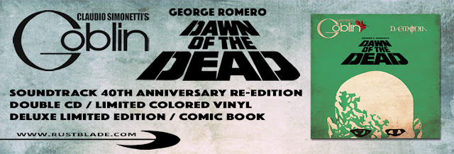 Dawn of the Dead soundtrack 40° anniversario