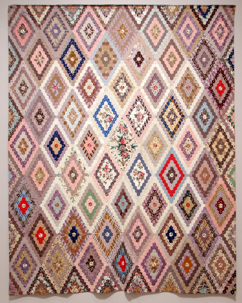 Tolman Quilt 1850 by Mary Chubb Tolman | Making the Australian Quilt 1800-1950 | © Red Pepper Quilts 2016