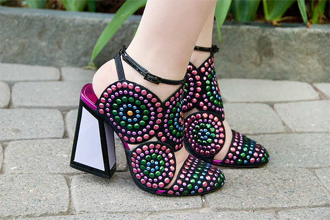 kat Maconie, Frida shoes, high heels