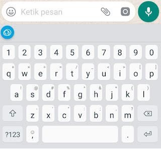 Tampilan Jenius Keyboard