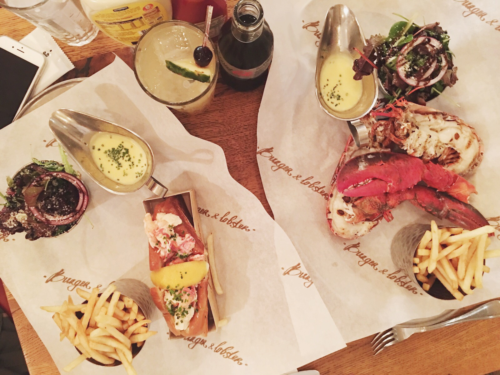 burger and lobster in london