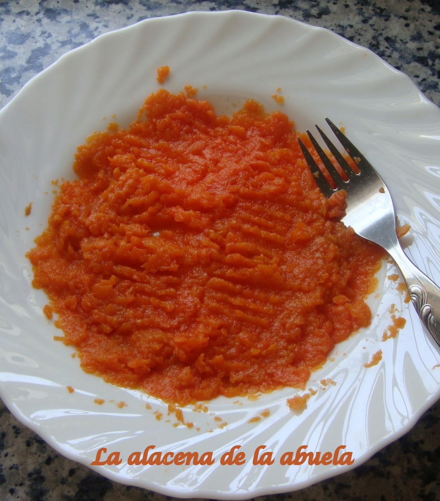 La alacena de la abuela carmen cocos de zanahoria for Cocina casera de la abuela