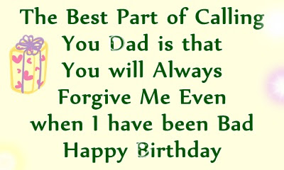 Happy Birthday Dad Quotes - Happy Birthday Wishes for Papa