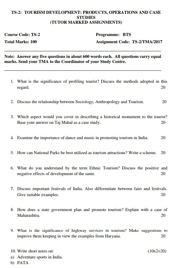 IGNOU TS-2 SOLVED ASSIGNMENT FREE DTS BTS