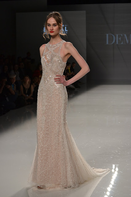 """""""Demetrios at Barcelona Bridal Fashion Week"""""""