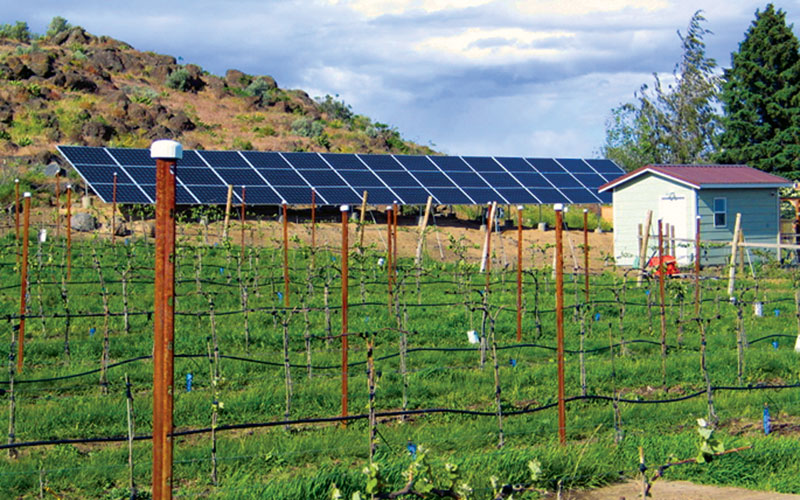 Solar energy for farming