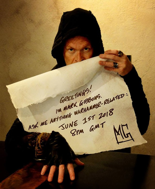 """Mark Gibbons """"Ask Me Anything"""" Coming Friday!"""