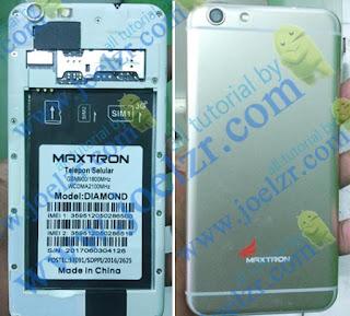 Maxtron diamond LCD Blank Putih setelah flash