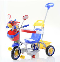 family aeroplane baby tricycle