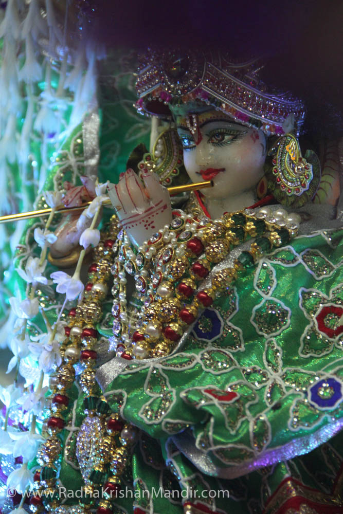 sri krishna with radha