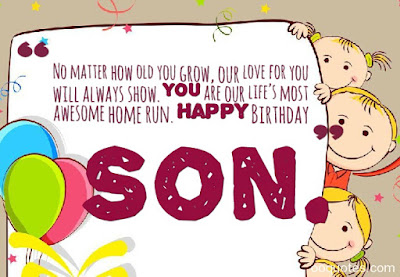 quotes for a son from his mother on his birthday