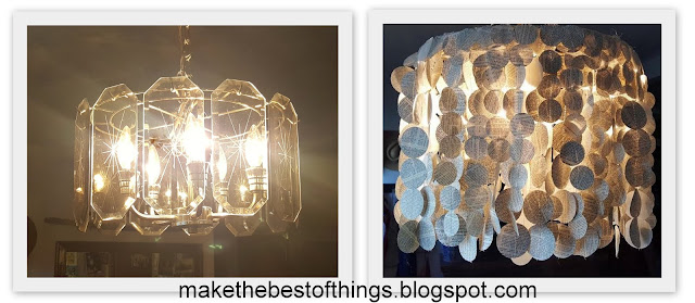Make The Best Of Things Book Page Chandelier Lamp Shade
