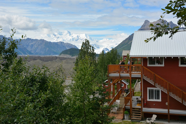 Kennicott Glacier Lodge view