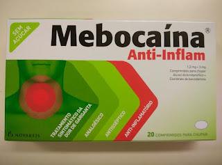 Mebocaína Forte vs  Mebocaína Anti-Inflam