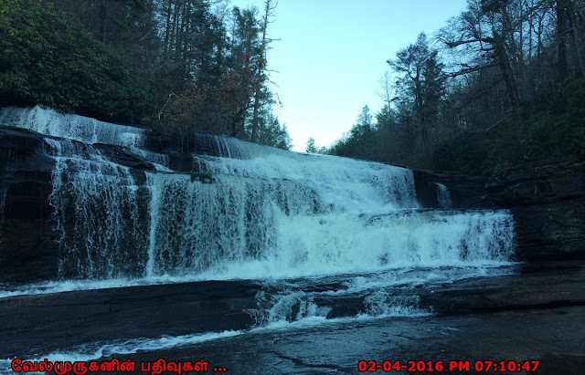 Triple Water Falls Little River NC