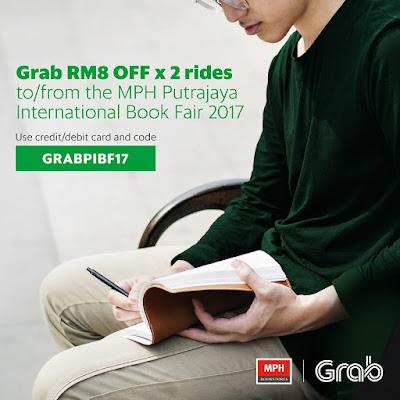 Grab Promo Code Malaysia MPH Book Fair PICC Putrajaya