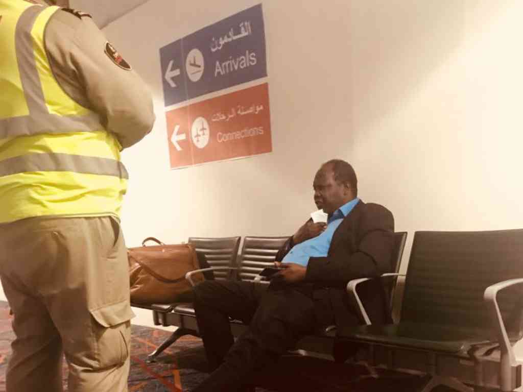 Relentless Miguna Miguna Refuses To Board London Plane