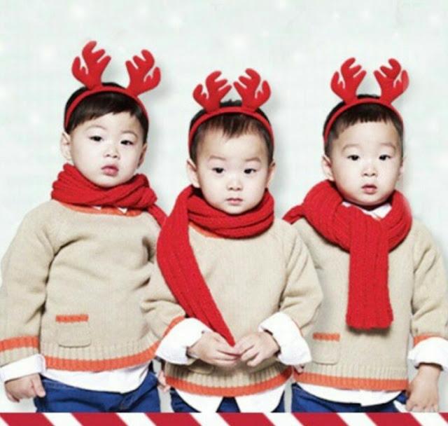 可愛的聖誕糜鹿 三胞胎vs朴寶劍
