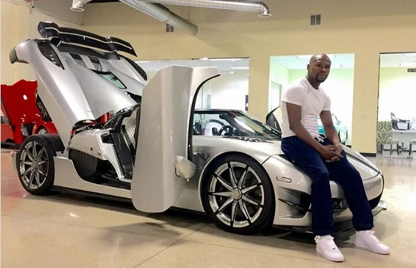 Floyd Mayweather vende su Koenigsegg CCXR Trevita
