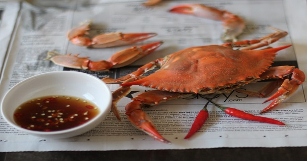 Beer-Steamed Blue Crabs Recipe