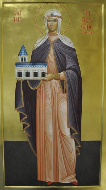 Liturgia Latina 19th October St Frideswide Virgin