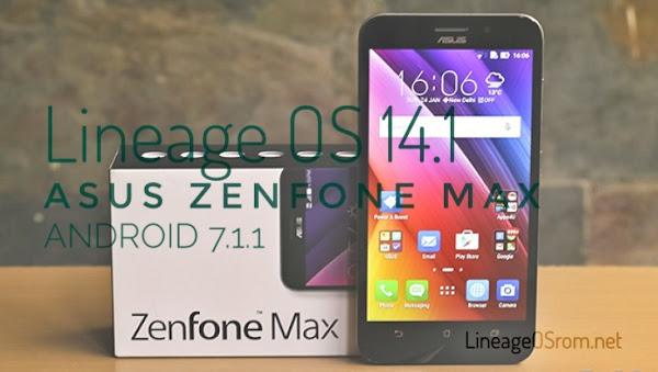 Lineage OS 14.1 Zenfonw Max