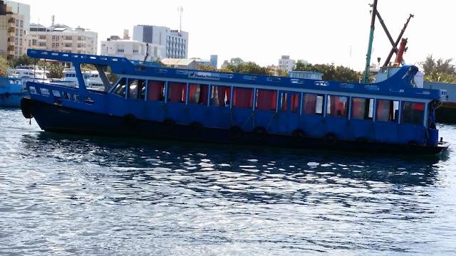 Transporte Público entre islas en Maldivas