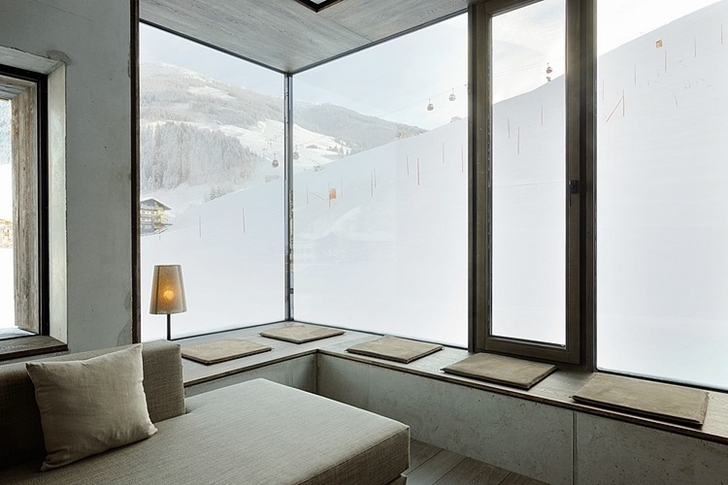 Corner seat in Boutique Hotel, Austria