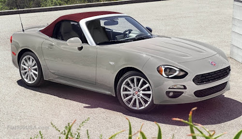 2018 Fiat 124 Spider Red Top Edition
