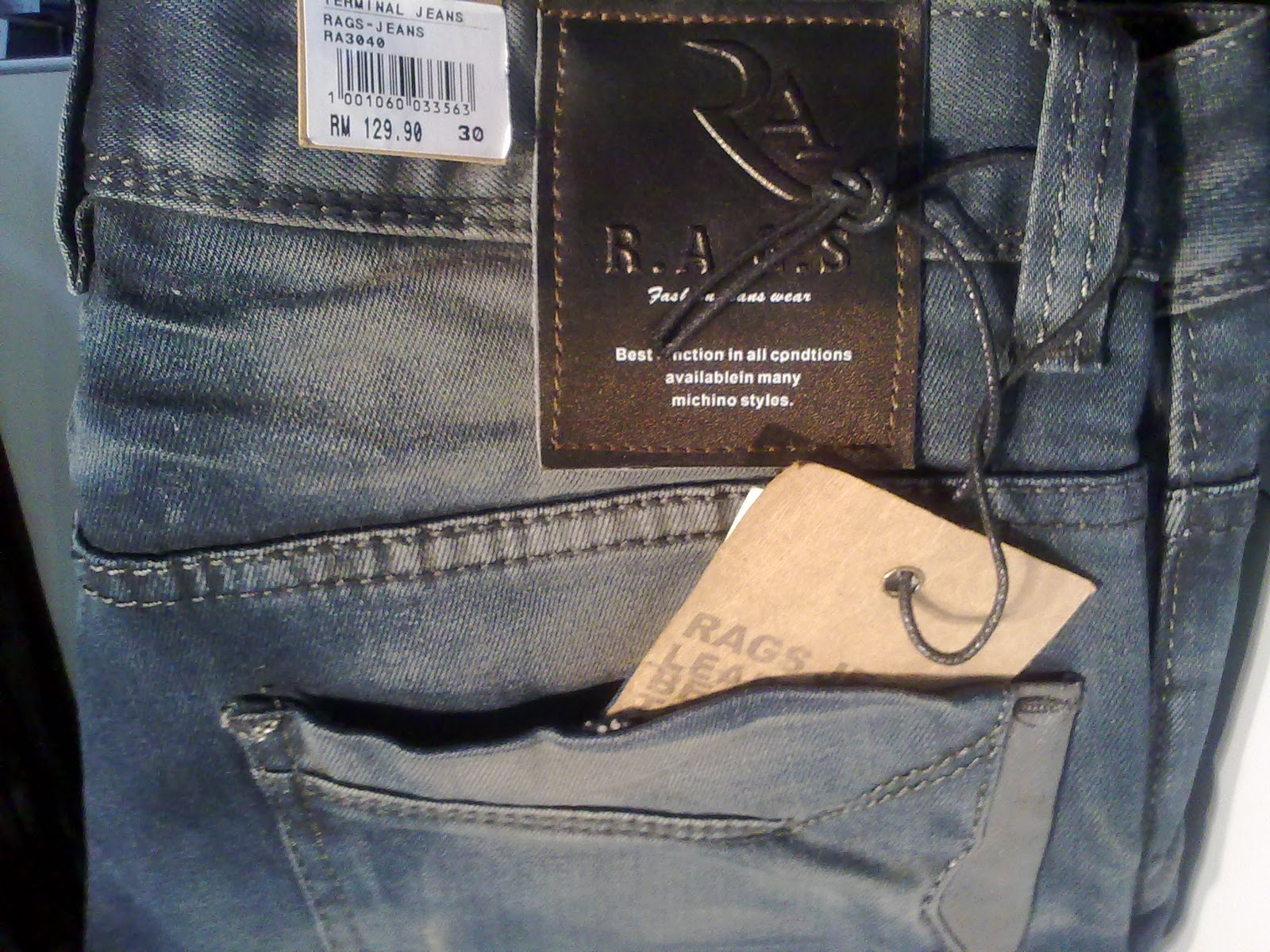 a0ed2dc5 Terminal Jeans Jeans...and more: RAGS JEANS