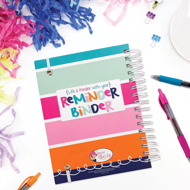 Denise Albright Reminder binder planner giveaway #ad