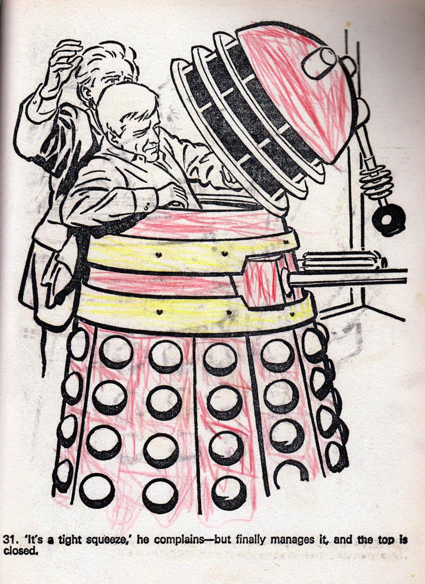 Blimey  The Blog Of British Comics  Dalek Colouring Book