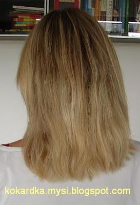 Wasze włosy u Mysi. Kasia. Balejaż popielato-złocisty