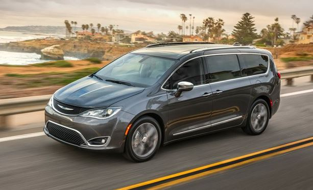 2017 Chrysler Pacifica Review and price