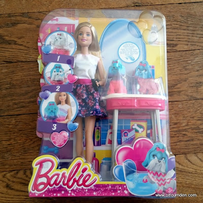 Barbie Colour Me Cute packaging