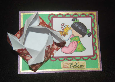 Lynn's Craft Blog: Origami Money Card and Treat Box - photo#37