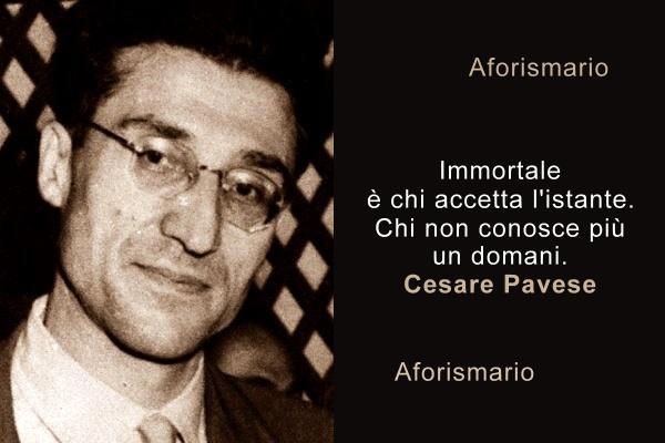 Aforismario Frasi E Citazioni Di Cesare Pavese