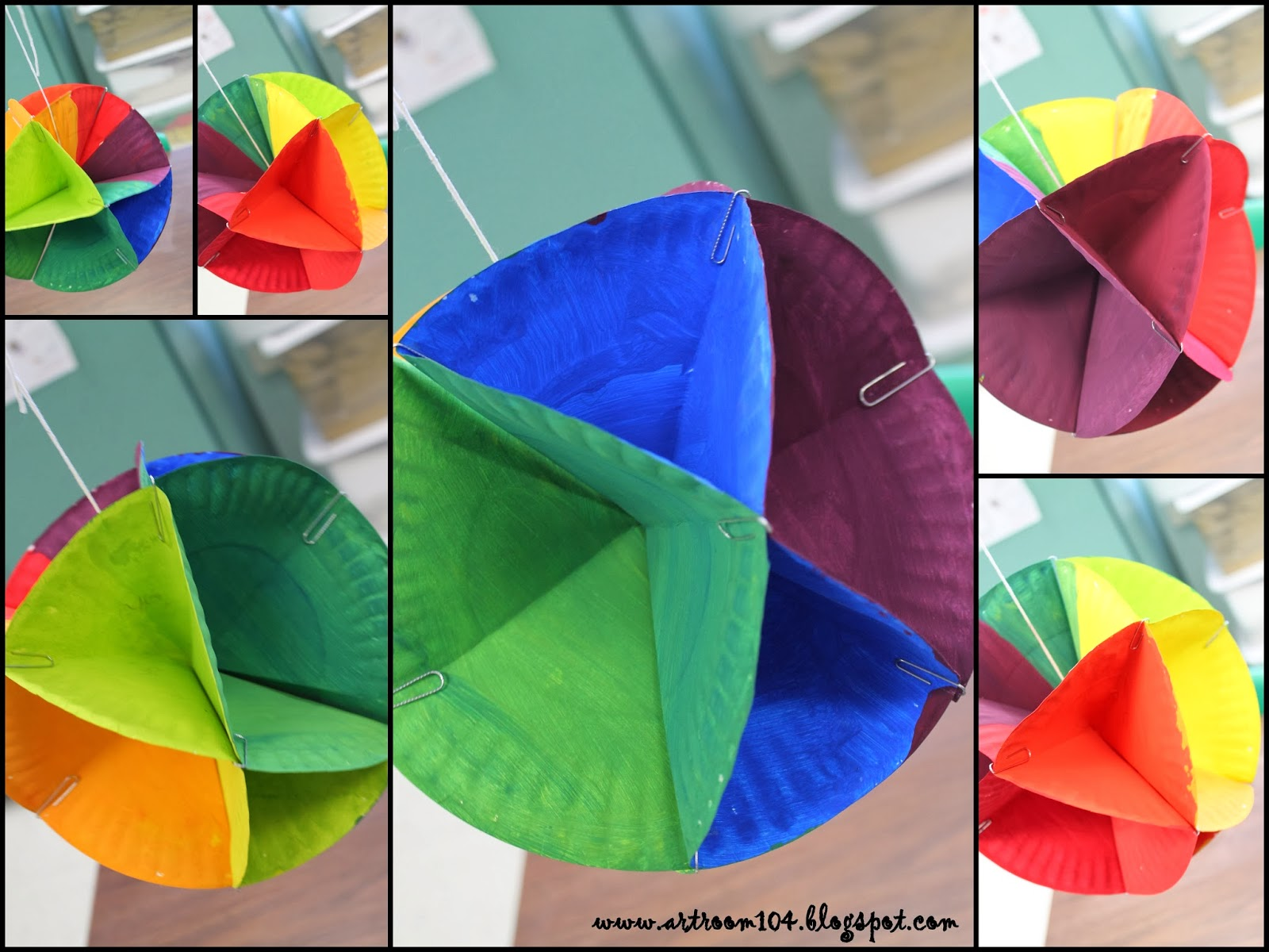 Art Room 104 5th Grade 3 D Color Wheel Tutorial