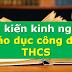SÁNG KIẾN KINH NGHIỆM MÔN GIÁO DỤC CÔNG DÂN THCS (Skkn giáo dục công dân 6, 7, 8, 9)