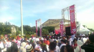 Hari ini Ratusan Orang Ikut Hadiri Parade Bhinneka Tunggal Ika di Patung Kuda, Jakarta - Commando