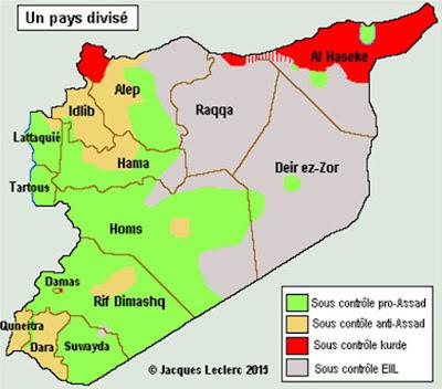 Complejidad geopolítica de Siria