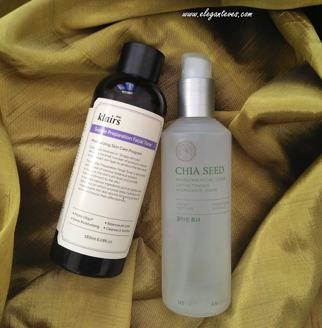 The Face Shop Chia Seed Hydrating Facial Toner Vs Klairs Supple Preparation Toner