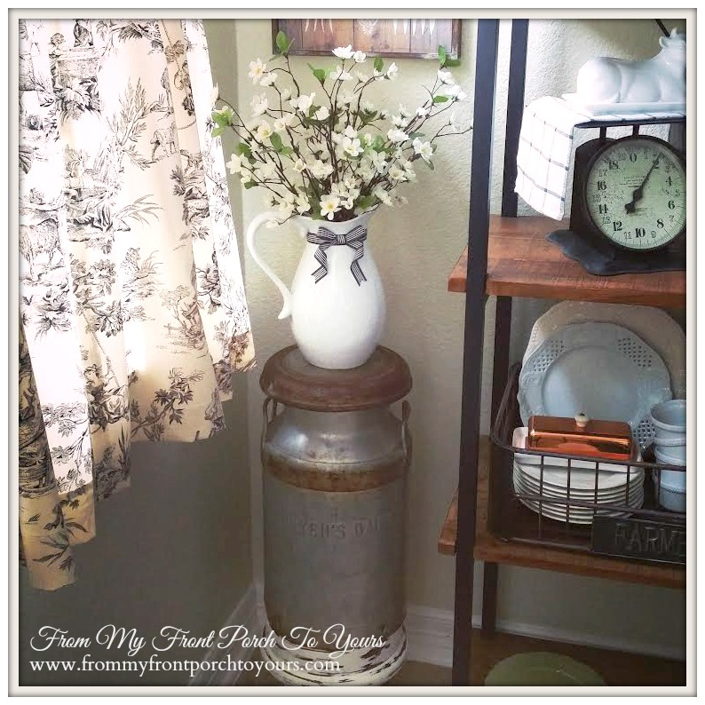 From My Front Porch To  Yours- Sneak Peek Breakfast Nook