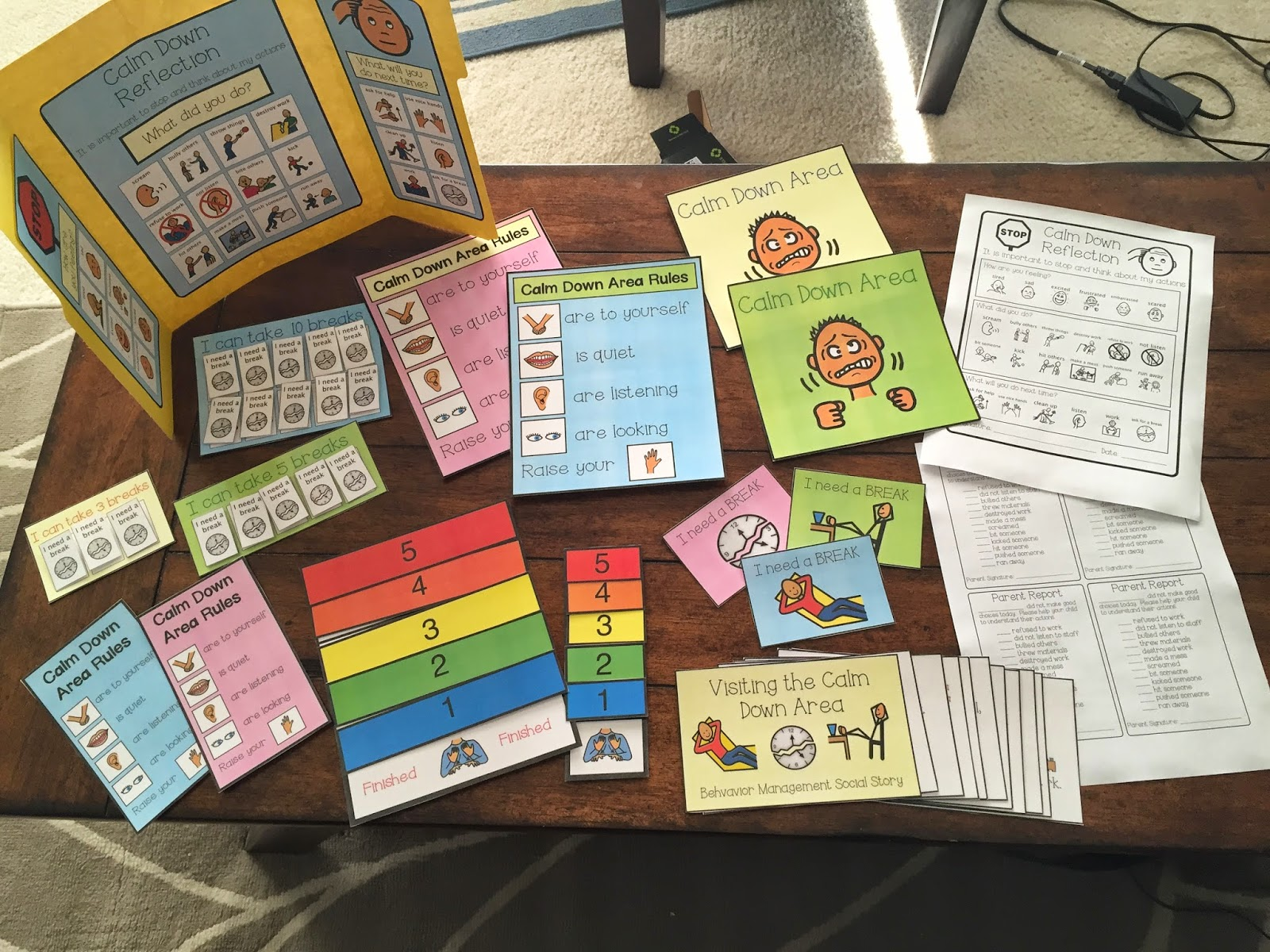 The Autism Adventures Of Room 83 Calm Down Kit 2nd Edition