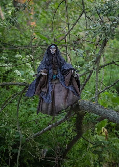 Fantasy ooak artdoll lady faerie