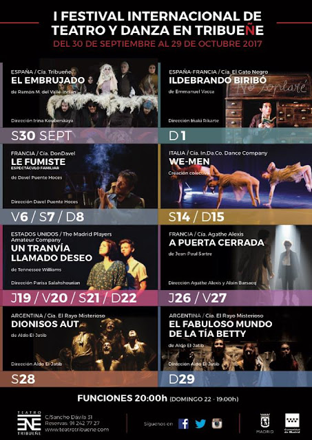 I Festival Internacional de Teatro y Danza TRIBUEÑE.