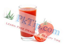 Tomato Juice For Dark Circles