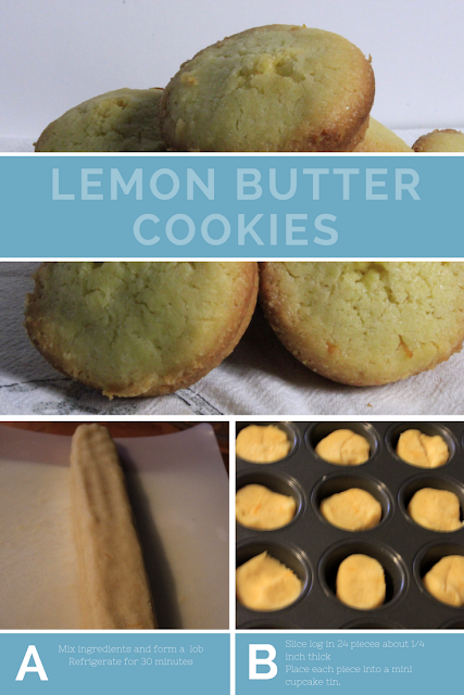 A buttery cookie with a slight lemony flavour that is perfect to have with a cup of tea or use in a dessert.