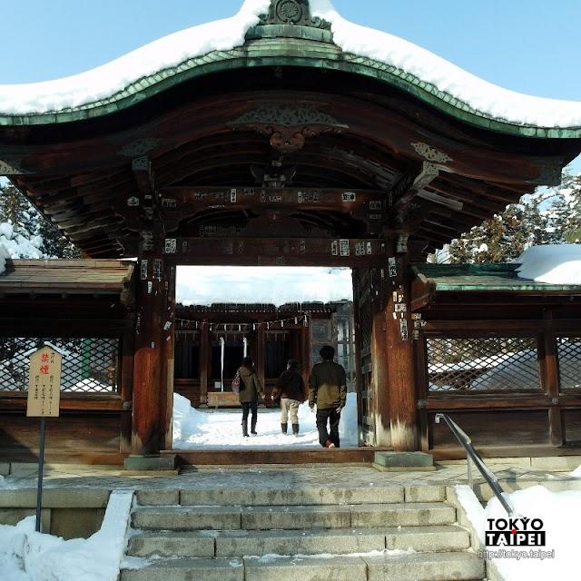 【米澤城跡】埋在雪堆中的上杉神社 還有直江兼續的愛